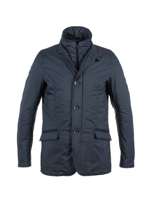 Herno heren donkerblauwe jas